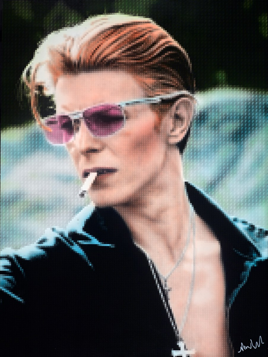 Thin White Duke by nick holdsworth -  sized 35x47 inches. Available from Whitewall Galleries